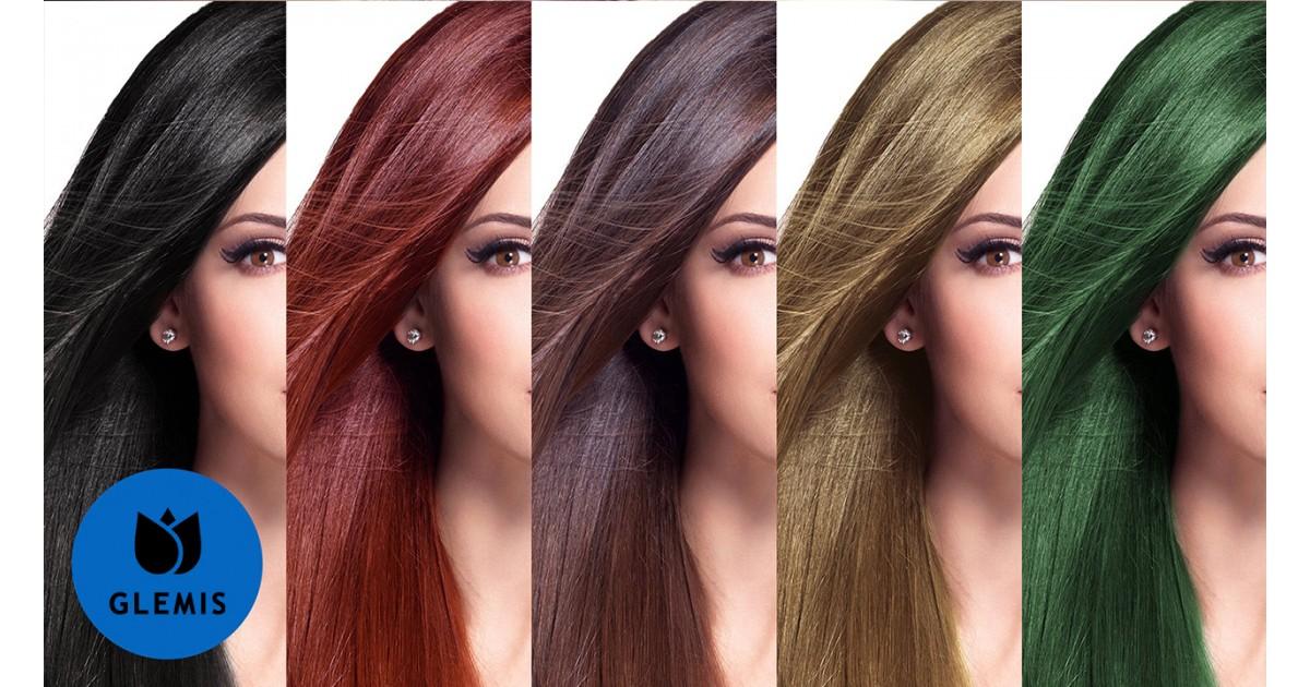 Как в поменять цвет волос