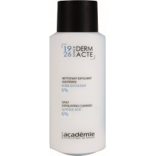 Lapte demachiant exfoliant, acid glicolic 6% - Daily Exfoliating Cleanser - Derm Acte IAR - Academie - 250 ml