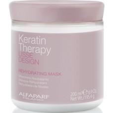 Masca de hidratare si indreptare - Rehydrating Mask - Lisse Design Keratin Therapy - Alfaparf Milano - 200 ml