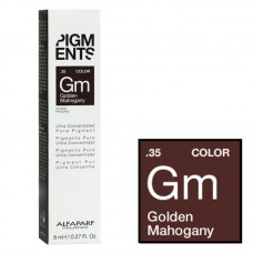 Pigment concentrat mahon auriu - .35 Golden Mahogany - Concentrated Pure Pigment - Alfaparf Milano - 8 ml
