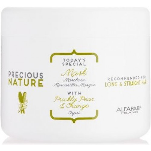 Masca Pentru Par Drept - Long & Straight Hair Mask - Precious Nature - Alfaparf Milano - 500 Ml