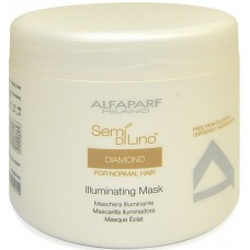 Diamond Illuminating Mask - Semi Di Lino - ALfaparf Milano - 500 ml