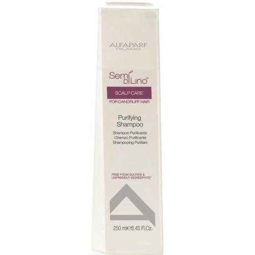 Scalp Purrifying Shampoo - Semi Di Lino - Alfaparf Milano - 250 Ml