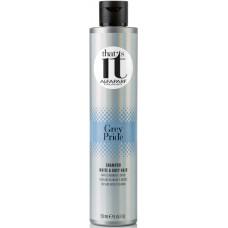 Sampon pigmentat anti ingalbenire pentru par alb sau grizonat - Grey Pride - Alfaparf Milano - 250 ml