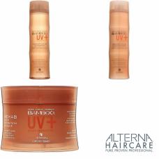 Kit pentru par vopsit - BAMBOO UV+ - Alterna - 3 produse cu 30.71% discount