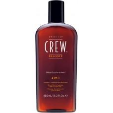 3 in 1 - Hair & Body Care - American Crew - 450 ml