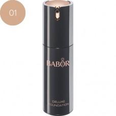 Fond de ten cu efect de lifting - Deluxe Foundation - Babor - Nr. 01 - 30 ml