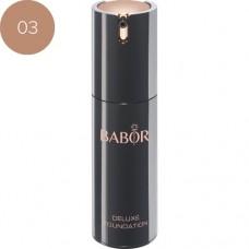 Fond de ten cu efect de lifting - Deluxe Foundation - Babor - Nr. 03 - 30 ml