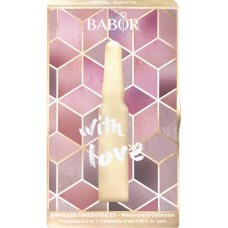 Set cadou 7 fiole - Ampoule Gift Box (With Love) - Masterpiece Collection - Babor - 7 x 2 ml