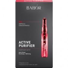 Fiole intens purifiante pentru tenul problematic - Active Purifier Ampoule Concentrates - Babor - 7 x 2 ml