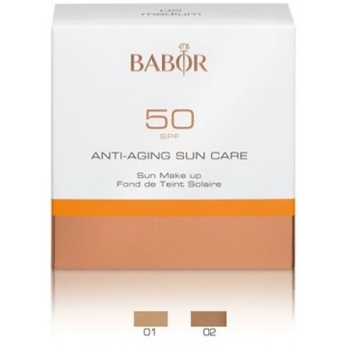 Fond De Ten Cu Protectie Solara - High Protection Make Up - 01 Light - Sun Care - Babor - 8 Ml