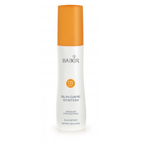 Spray Pentru Protectie Solara - Medium Protection Sun Spray Spf15 Babor 200 Ml