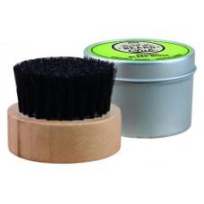 Perie pentru barba rotunda din bambus - Bamboo Beard Brush - Beard Club