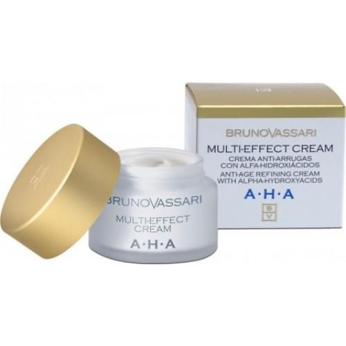 Crema Antirid Hidratanta Cu Acid Glicolic - Multi-effect Cream - Bruno Vassari - 50 Ml