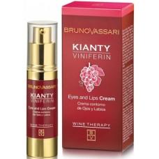 Crema Anti Rid Cu Ceramide Kianty Viniferin Eyes And Lips Cream Bruno Vassari