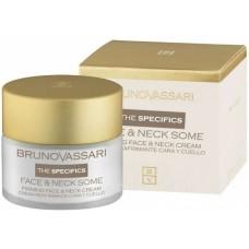Crema fermitate si anti-rid pentru gat si decolteu cu liposomi - Face And Neck Some Cream - Bruno Vassari - 50 ml