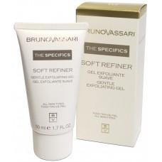 Gel exfoliant regenerant - Soft Refiner - Bruno Vassari - 50 ml