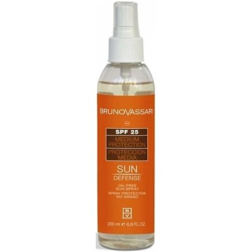 Spray Cu Protectie Solara Fara Ulei Oil Free Sun Spray Spf 25 Bruno Vassari