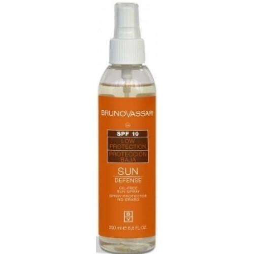Spray Cu Protectie Solara Fara Ulei Oil Free Sun Spray Spf 10 Bruno Vassari 200 Ml