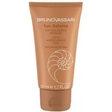 Crema autobronzanta pentru fata - The Face Instant Bronzer - Sun Defense - Bruno Vassari - 50 ml