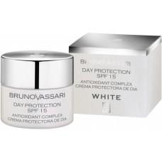 Crema hidratanta pentru albire - White Day Protection SPF 15 - Bruno Vassari - 50 ml