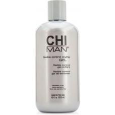 Gel de par pentru barbati (fara alcool sau parabeni) - Flexible Control Styling Gel - Man - CHI - 355 ml