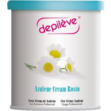 Ceara cu azulena - Azulene Cream Rosin - Depileve - 800 g
