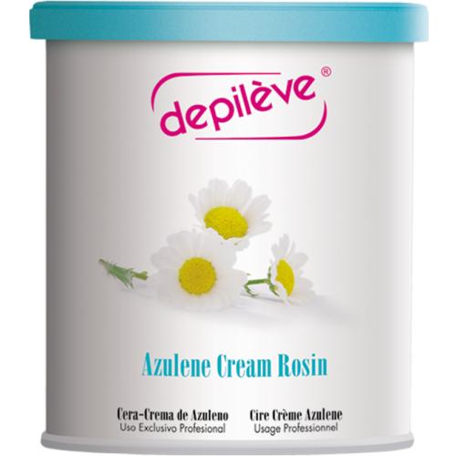 Ceara Cu Azulena  Azulene Cream Rosin Depileve 800 G