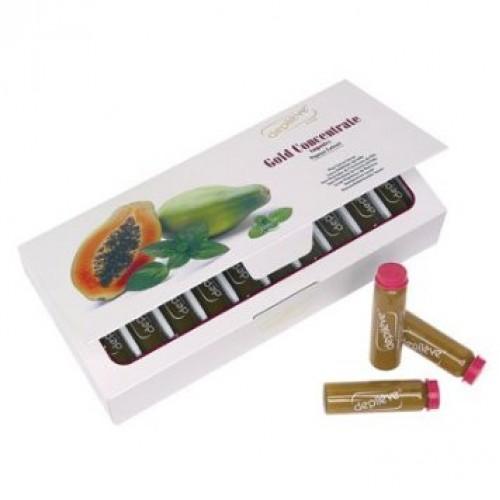 Inhibitor De Crestere A Parului - Gold Concentrate Depileve 20 X 10 Ml