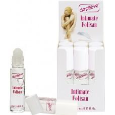 Gel roll-on impotriva foliculitei din zonele sensibile - Intimate Folisan - Depileve - 6 x 8 ml