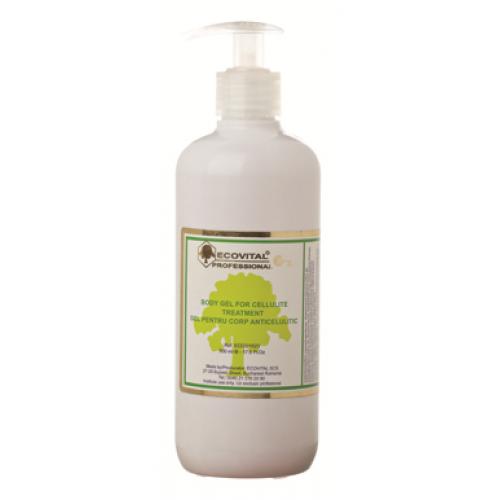 Gel Anticelulitic Lipoactiv - Body Gel For Cellulite Treatment - Ecovital - 500 Ml