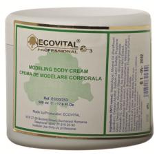 Crema de modelare corporala - Modeling Body Cream - Ecovital - 500 ml