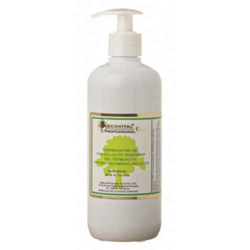 Gel Anticelulitic Termoactiv - Thermoactive Gel For Cellulite Treatment - Ecovital - 500 Ml
