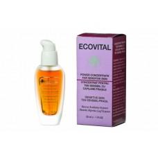Concentrat pentru ten sensibil cu capilare fragile - Power Concentrate for Sensitive Skin - Ecovital - 30 ml