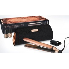 Set placa de par profesionala + 2 lacuri de unghii - Platinum Styler Premium Gift Set - Copper Luxe Collection - GHD