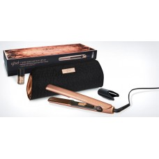 Set placa de par profesionala + lac de unghii - V Gold Styler Premium Gift Set - Copper Luxe Collection - GHD