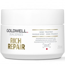 Tratament reparator pentru par degradat - 60Sec Treatment - Rich Repair - DualSenses - Goldwell - 200 ml
