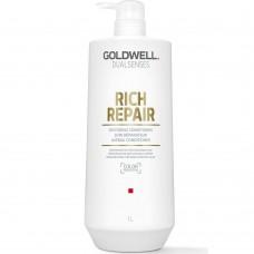Balsam reparator pentru par degradat - Restoring Conditioner - Rich Repair - DualSenses - Goldwell - 1000 ml