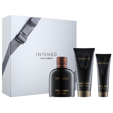Set apa de parfum barbati + gel de dus + aftershave - Intenso - Dolce & Gabbana - 125 ml + 50 ml + 100 ml