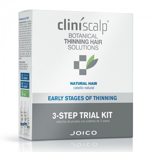 Kit Impotriva Caderii Normale A Parului Natural - 3 Step Trail Kit Early Stages - Cliniscalp - Joico