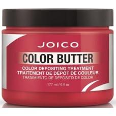 Tratament nuantator pentru par - Color Depositing Treatment - Color Butter - Red - Joico - 177 ml
