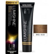 Vopsea de par profesionala pentru luciu intens - 8NG - Permanent Color Cream - Lumishine - Joico - 74 ml