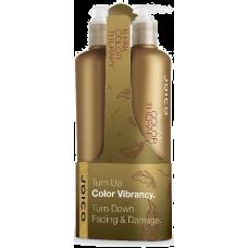 Set şampon + balsam reparator pentru păr vopsit - K-Pak Color Therapy Duo - Joico - 2 x 500 ml