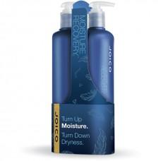 Set şampon + balsam pentru hidratare intensă - Moisture Recovery Duo - Joico - 2 x 500 ml