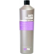 Sampon impotriva ingalbenirii parului alb sau decolorat - Anti-Yellowing Shampoo - KAYPRO - 1000 ml