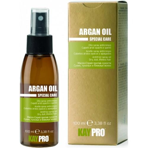 Ulei-spray Anti-porozitate Cu Ulei De Argan - Antifrizz Spray Oil With Argan Oil - Argan Oil - Kaypro - 100 Ml