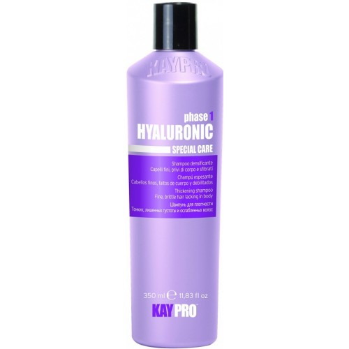 Sampon Cu Acid Hialuronic - Thickening Shampoo With Hyaluronic Acid - Hyaluronic - Kaypro - 350 Ml