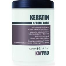 Masca cu keratina (par vopsit, degradat) - Restructuring Mask With Keratin - Keratin - KAYPRO - 1000 ml