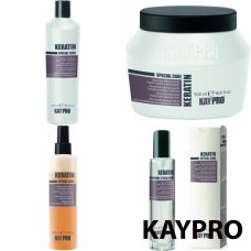 Kit mic pentru par degradat - Keratin - KAY PRO - 4 produse cu 25% discount