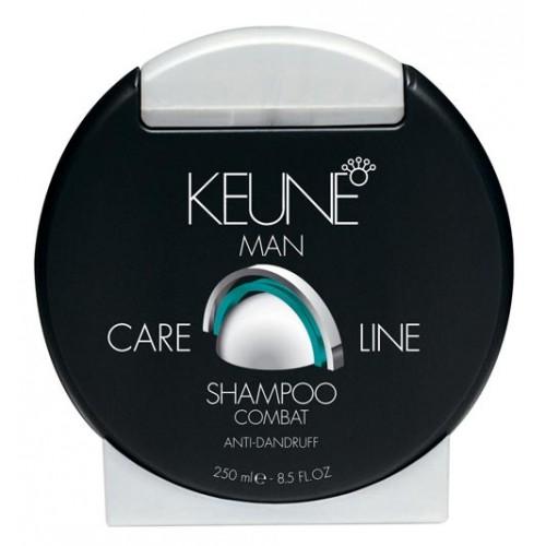 Șampon Pentru Bărbați împotriva Mătreții - Combat Shampoo - Care Line Man - Keune - 250 Ml